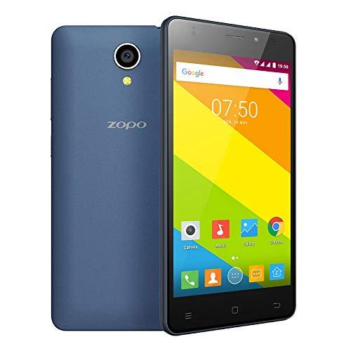 Applicazione ZOPO C2 Smartphone 3G WCDMA del Android 6.0 OS Quad Core MTK6580 5.0' RAM dello Schermo 1.3GHz 1GB Accessori per cellulari (Colore : Blue)