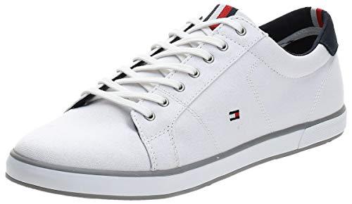 Tommy Hilfiger H2285ARLOW 1D, Sneaker Uomo, Bianco (White 596), 43 EU
