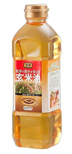 オリザ油化『国産玄米油』