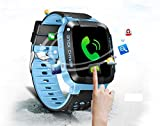 TrailO iSecureRely - Kids GPS Tracker SOS Smart Touch Screen Watch   Call