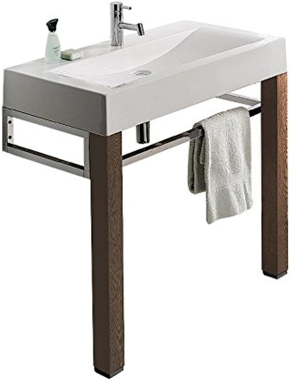 Untergestell mit Fu     zum Waschtisch Plan     100 cm