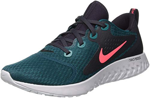 Nike Legend React, Zapatillas de Running para Hombre, Azul (Geode Teal/Hot Punch/Oil Grey/300), 39 EU