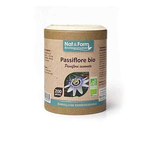 NAT & FORM - Passiflore Bio 200 Gélules - Lot De 2