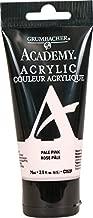 Grumbacher Academy Acrylic Paint, 75ml/2.5 Ounce Plastic Tube, Pale Pink (C253P)