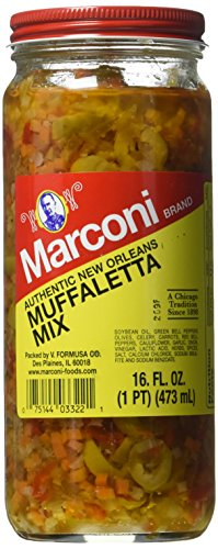Marconi Mild Muffaletta, 16 Ounce