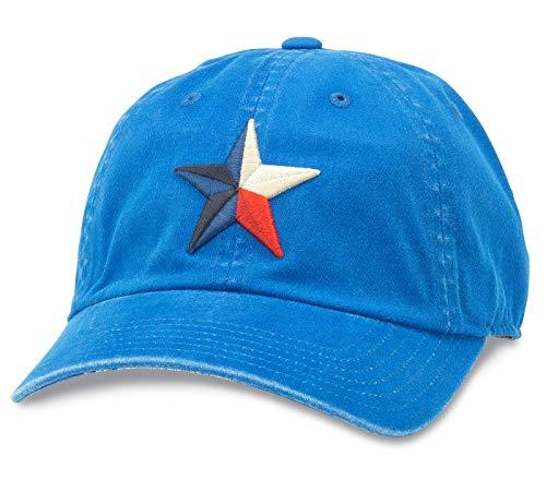 AMERICAN NEEDLE New Raglin Texas Baseball Dad Hat (36670A-TX-DERO)