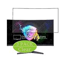 3枚 VacFun フィルム , MSI Optix MAG271VCR MAG270VC2 27インチ ディスプレイ モニター 向けの 保護フィルム 液晶保護 フィルム 保護フィルム(非 ガラスフィルム 強化ガラス ガラス ケース カバー ) ニュー