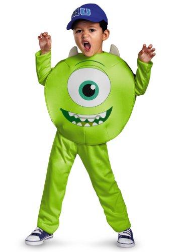 Disney Pixar Monsters University Mike Toddler Classic Costume, 4-6