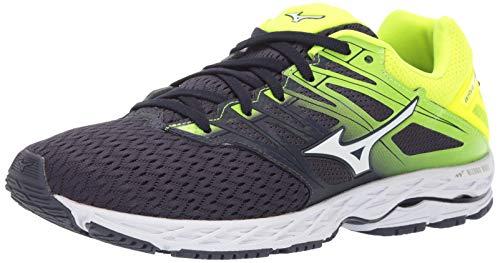 Mizuno Herren Wave Shadow 2 Running Shoe, Laufschuh, graphitweiß, 41 EU