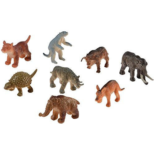 Assorted Mini Ice Age Animal Action Figures (Set of 12)