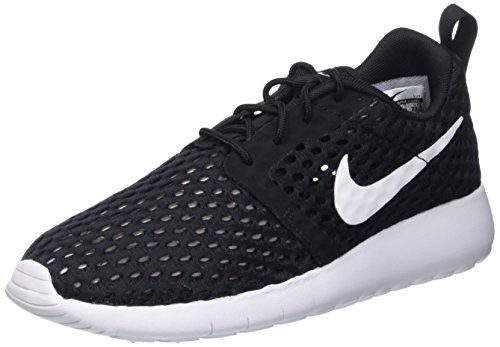 Nike Jungen Buty Roshe One Flight Weight (GS) Zehenkappen, Schwarz (Black/White), 38 EU