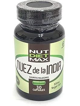 Quemador De Grasa Y Acelerador Metabolismo - Adelgaza Rapido - Indian Capsulas Nut 100% Natural - 1 Month Supply  1