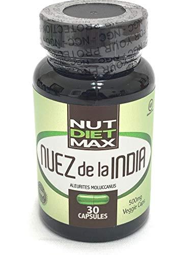Quemador De Grasa Y Acelerador Metabolismo - Adelgaza Rapido - Indian Capsulas Nut 100% Natural - 1 Month Supply (1)