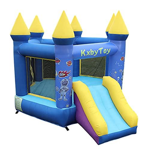 LGLE 3mX3mX2.3m, casa inflable de la despedida de la gorila del castillo hinchable de los niños y puente inflable de la diapositiva con el ventilador del flujo de aire, A