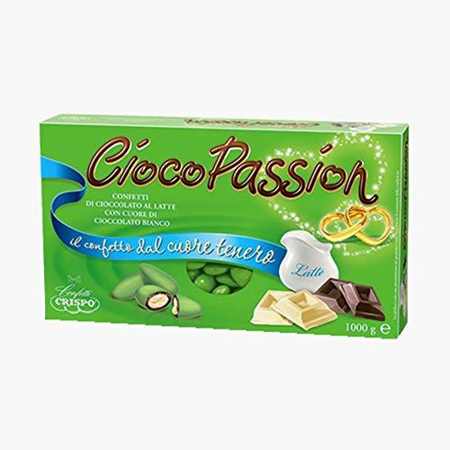 CONFETTI CRISPO - CIOCOPASSION | 1 KG (Classico Verde)