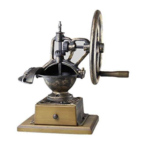 Wtbew-u Handmatige Koffie Grinder,IJzeren Hand Grinder Koffiemolen, Vintage Stijl Decor Oude Mode Ontwerp