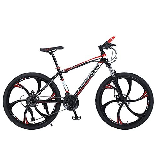 Mountain Bike Bicicleta Urbana para jóvenes (24/26 Pulgadas 21/24/27 velocidades Blanco y Azul; Negro y Rojo; Negro y Verde; Blanco y Negro)