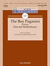 Boy Paganini - Intermediate - Violin & Piano - BK/CD by Edward Mollenhauer (2005-08-30)