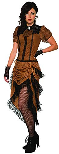 Forum Novelties womens The Last Dance Saloon Girl Adult Sized Costumes, As Shown, Standard US