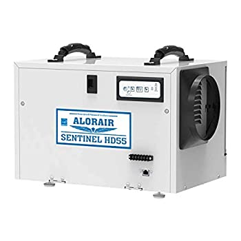 ALORAIR Basement/Crawl Space Dehumidifiers Removal 120 PPD  Saturation  55 Pint Commercial Dehumidifier Energy Star Listed 5 Years Warranty Auto Defrosting cETL Optional Remote Monitoring