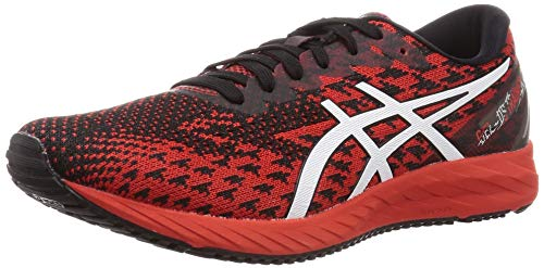 ASICS Mens Gel-DS Trainer 25 Running Shoe, Fiery Red/White, 44 EU