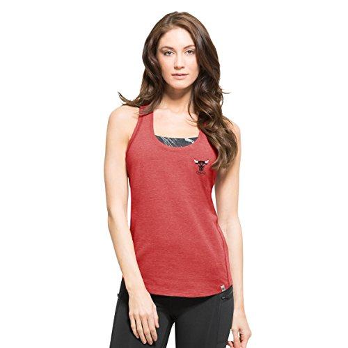 NBA LA sobrecarga de las mujeres camiseta de tirantes - GN-269985-S, Cambio de color rojo
