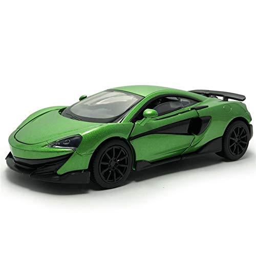Utilizado para McLaren 1:32 Escala Aleación Metal Diecast Pull Back Luces Sonido Modelo Coche Juguetes Niños Juguetes Cumpleaños Regalos Navidad Decoración