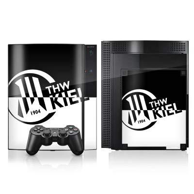 DeinDesign Skin kompatibel mit Sony Playstation 3 Folie Sticker Handball THW Kiel Fanartikel