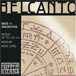 Thomastik Max 67% OFF Belcanto 3 4 Size Bass Ranking TOP5 Strings Exten E Double