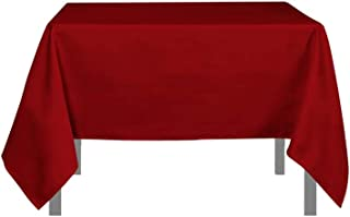 Soleil d'ocre Mantel Antimanchas Cuadrado 180x180 cm Alix Rojo