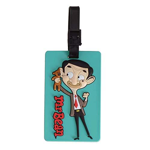 Puckator Mr. Bean und Teddy Gepäckanhänger - Kofferanhänger Gepäckidentifizierung Kofferschild