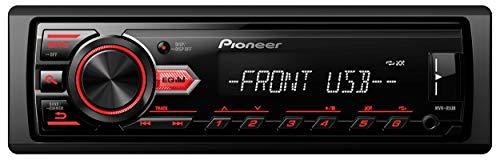 Pioneer MVH-85UB Digital Media Car Stereo Receiver , USB , Auxiliary , MP3 Playback , Mixtrax , Media App Control , Siri Eyes Free Compatible
