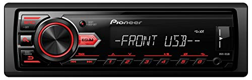Pioneer MVH-85UB Digital Media Car Stereo Receiver , USB , Auxiliary , MP3 Playback , Mixtrax , Media App Control , Siri Eyes Free Compatible