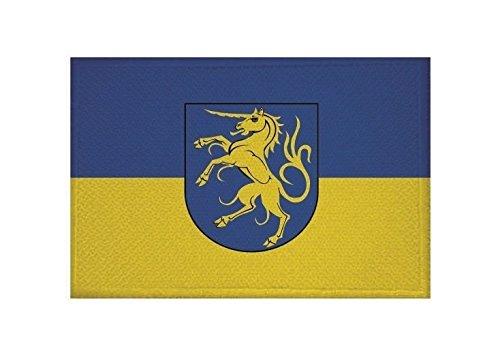 U24 Aufnäher Giengen an der Brenz Fahne Flagge Aufbügler Patch 9 x 6 cm
