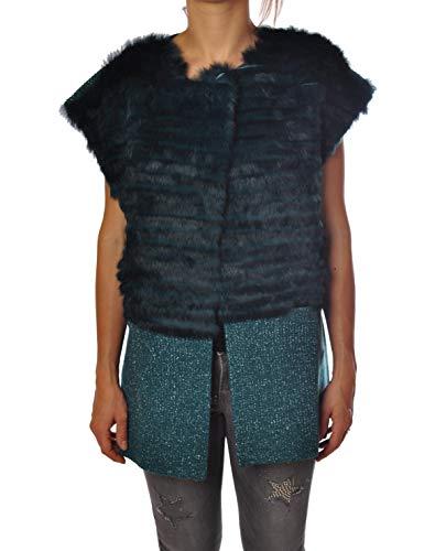 Liu Jo jas mantel vacht Natura en shirt Lurex P66040 tg 40