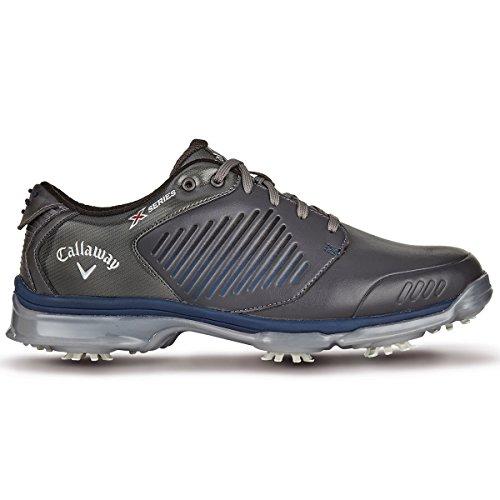 Callaway X-Series-Xfer Nitro, Zapatillas de Golf Hombre, Blanco (White), 42 EU