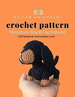 Mini Amigurumi Pug Free Crochet Pattern | móhu | 337x260