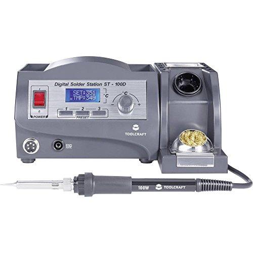 TOOLCRAFT ST-100D Lötstation digital 100 W +150 bis +450 °C