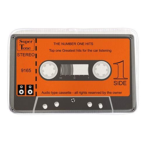 N / A Felpudo Alfombrillas DeDecoración para El Hogar Cinta Mezcla Cassette MúsicaAntigua AlfombrillaImpresa Alfombrillas para Puertas Interiores Alfombrillas-40x60cm