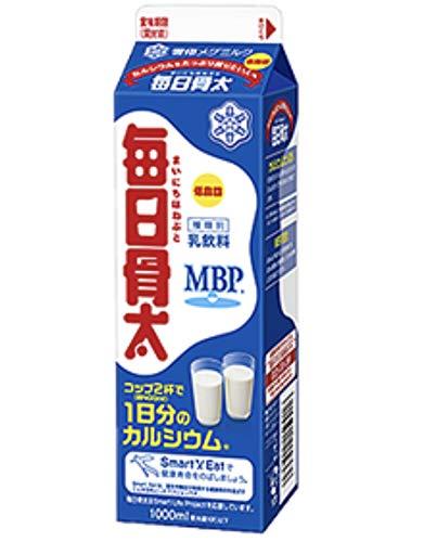 雪印 メグミルク 毎日骨太【1000ml×6本入】 クール便