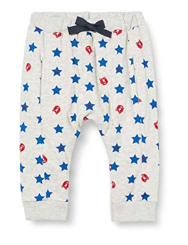 Petit Bateau - Pantalón de bebé para niño Beluga/Multicolor 6 Mes