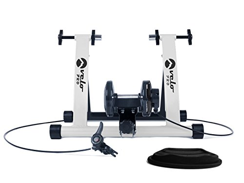 Velo Pro Rodillo Magnético Bicicleta para Entrenamiento de Bici de Carretera o Montaña al Interior de la Casa, 6 Niveles, Ruedas de 26 a 28 Pulgadas