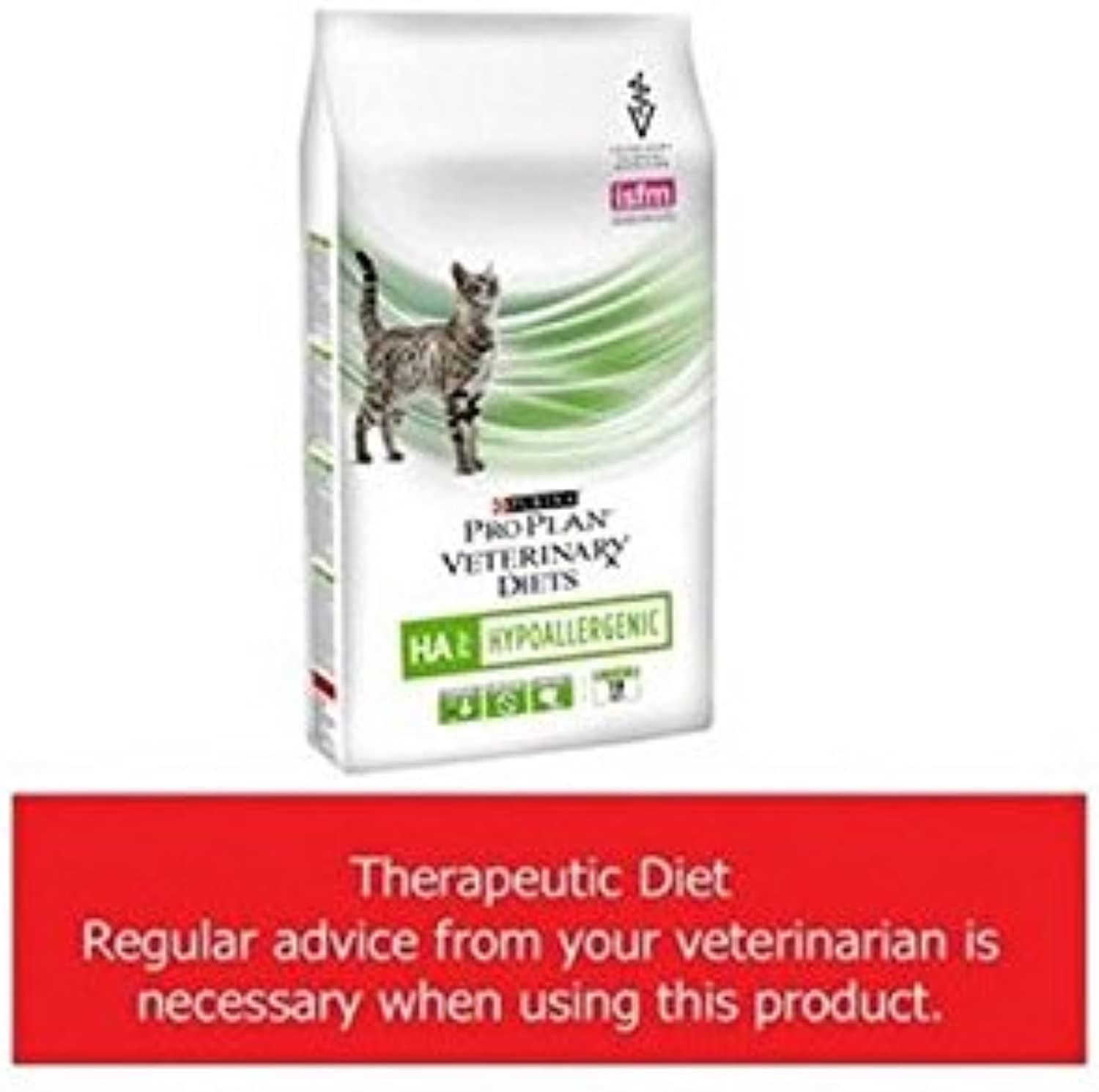 Purina PRO PLAN Vet Diet Feline HA Hypoallergenic Cat Food (1.3kg) (Pack of 2)