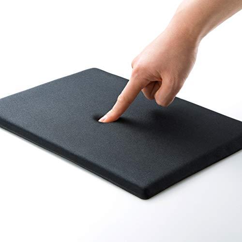 DM&FC Dick Mouse Pad Memory-Schaum, Nicht-Slip Gummi Unten Mousepad Für Laptop, Computer, Spiele, Office, A4 Glatte Oberfläche-schwarz 29.5x21cm(12x8inch)