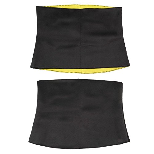 Belly Shaper for Women Thermal Waist Trainer - Slimming Waist Belts Sports Safety Body Shaper Training Corsets Yoga Fitness Tops - Fat Burning Belt (XXXL)