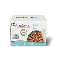 Natural kitten food. Applaws insist on using only the highest quality protein in Applaws recipes Natural source of protein to help your cat stay healthy, active and strong. Specially formulated to aid giving kittens the best start in life No derivati...