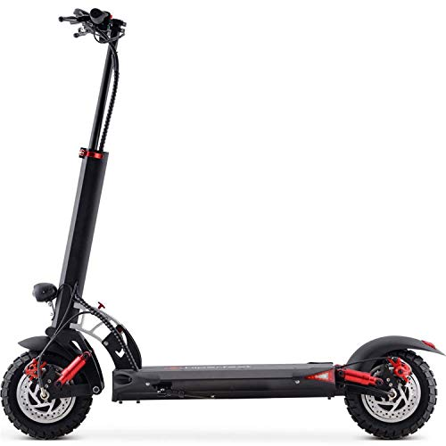 MotoTec Thor 60v 2400w Lithium Electric Scooter Black
