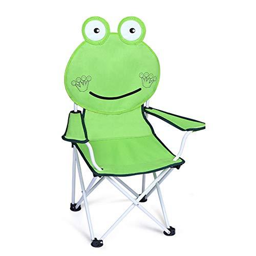 LGFV Camping Stoel Outdoor Vouwen Kinderstoel Strandstoel Rugleuning Leuke Cartoon Draagbaar Geschikt voor Balkon Buiten