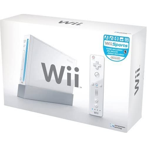 Nintendo Wii - console Nintendo WII Sport bianca.Console Joystick e Nchuck