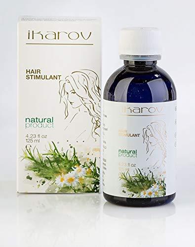 Haaröl Haarserum 125 ml | Ikarov Kuker Hair Growth Stimulant | Haar Stimulans für Frauen | Haarserum mit Reines Brennnesselöl Ylang Ylang Bergamottenöl Kapuzinerkresse Mandelöl